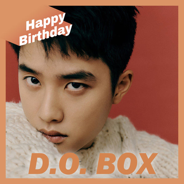 EXO D.O. BOX(**LIMITED TIME OFFER**)