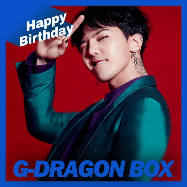 BIGBANG G-DRAGON BOX(**LIMITED TIME OFFER**)