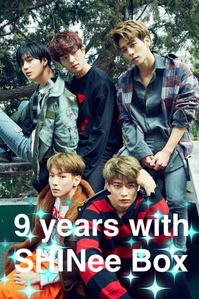 SHINee 9th Anniversary BOX(**LIMITED TIME OFFER**)