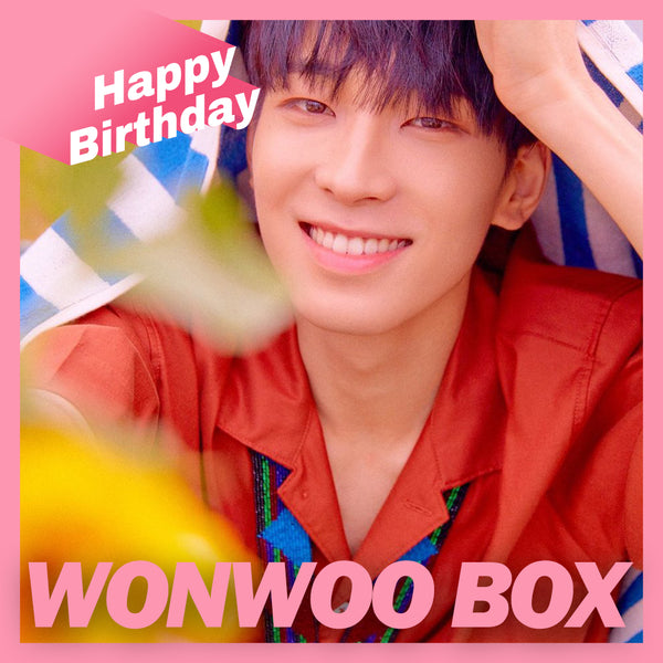 SEVENTEEN WONWOO BOX(**LIMITED TIME OFFER**)