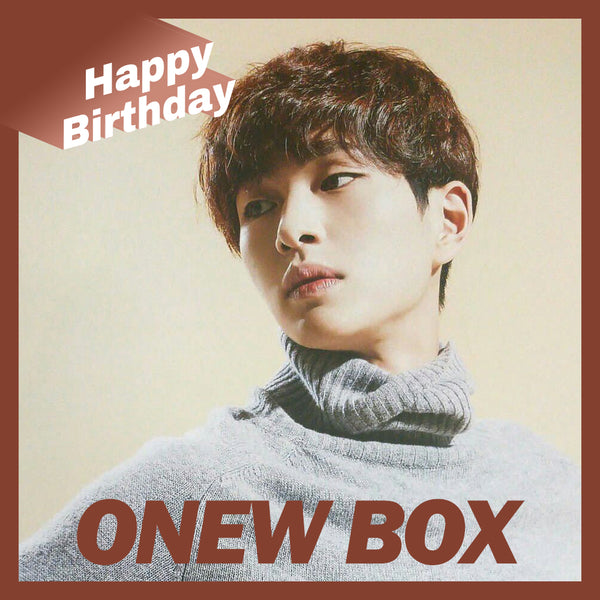 ONEW BOX(**LIMITED TIME OFFER**)