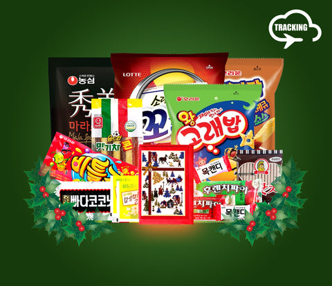 Premium K-Snack Box - Gift (Tracking Number Service Included)