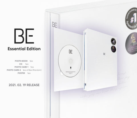 [PRE-ORDER] BTS BE (Essential Edition) (+On-packed poster)