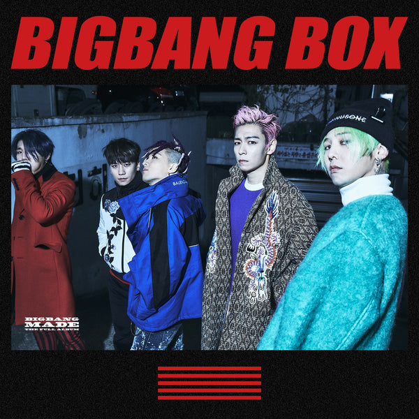 BIGBANG BOX(**LIMITED TIME OFFER**)