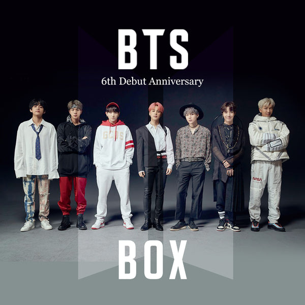 BTS 6th Debut Anniversary BOX(**LIMITED TIME OFFER**)