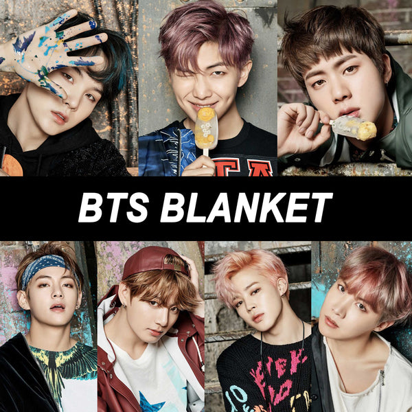 BTS Blanket(Group or Individual Member)