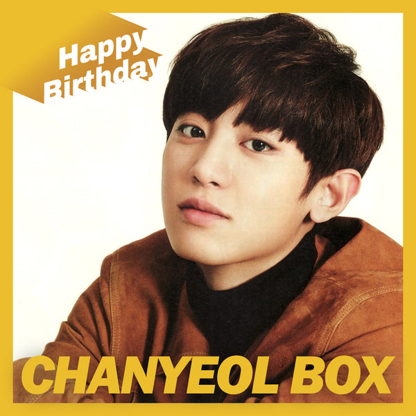 EXO CHANYEOL BOX(**LIMITED TIME OFFER**)