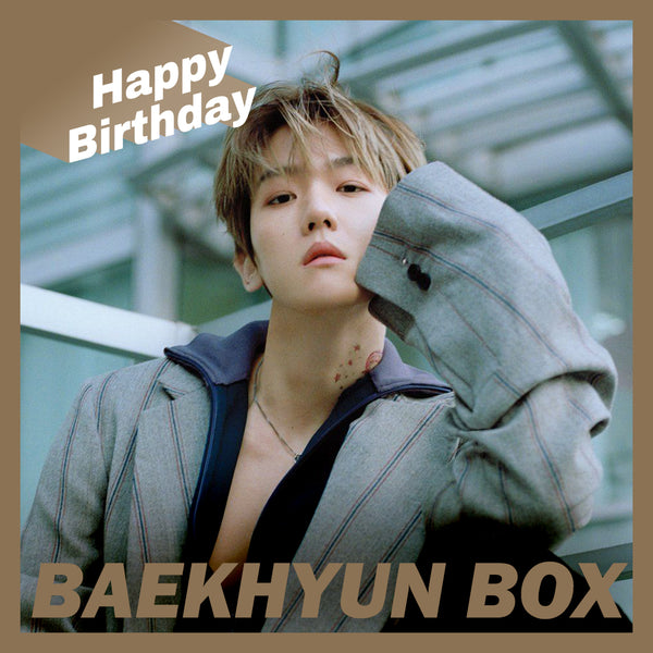 EXO Baekhyun BOX(**LIMITED TIME OFFER**)
