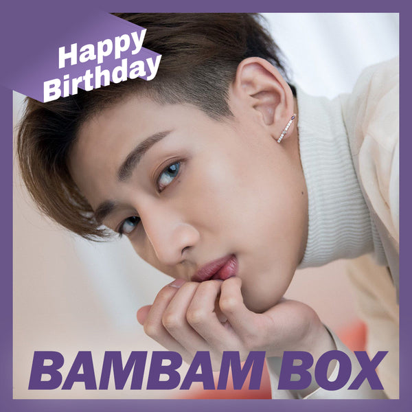 GOT7 BamBam BOX(**LIMITED TIME OFFER**)