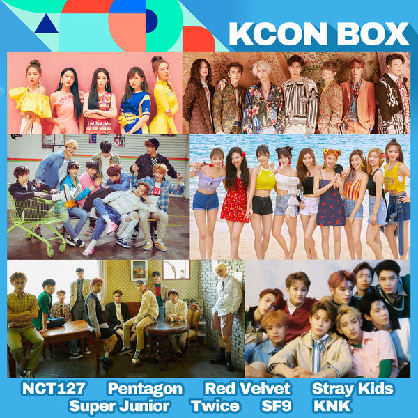 KCON Box (Multifandom Available) **ALL K-POP GROUPS ITEMS AVAILABLE **