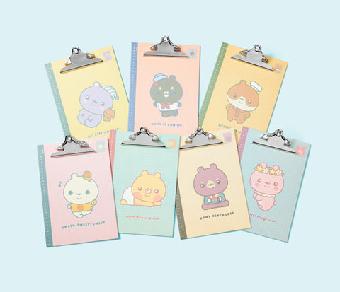 MONSTA X TWOTUCKGOM Clip Board (*BEBEGOM available)