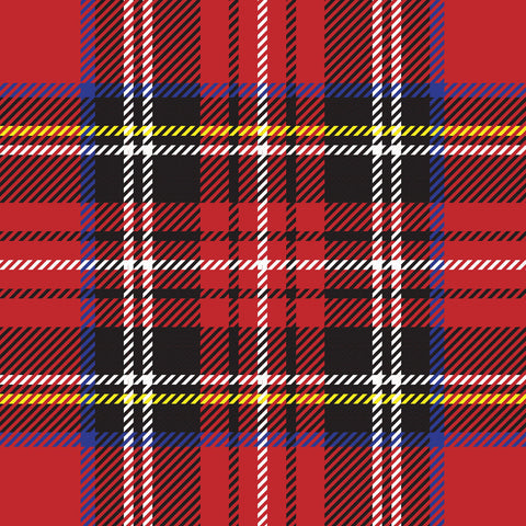 FS318 Red Tartan | Fabric Styles