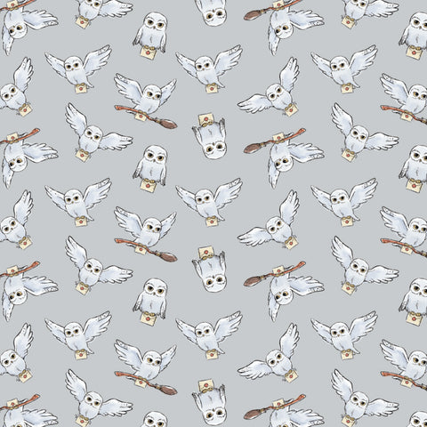 FS635_13 Harry Potter Grey Soft Wash Hedwig