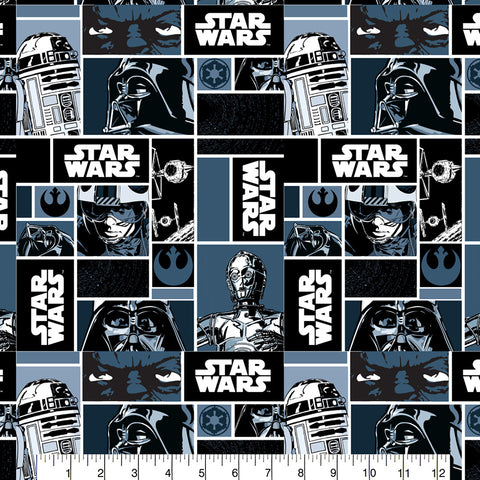 FS598_1 Darth Vader Star Wars Cotton