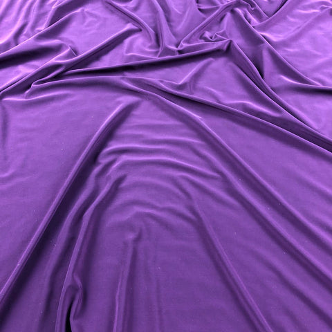 FS115_14 Purple Soft Touch Fabric | Fabric Styles