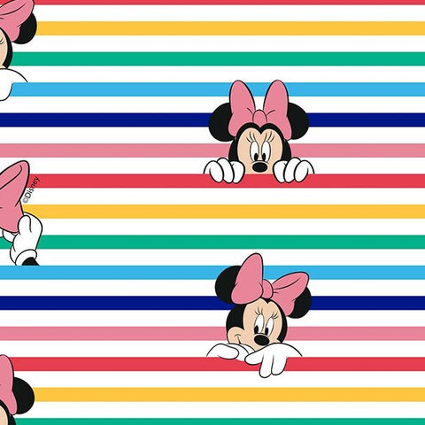 FS760_2 Little Johnny - Disney Rainbow Stripe Minnie