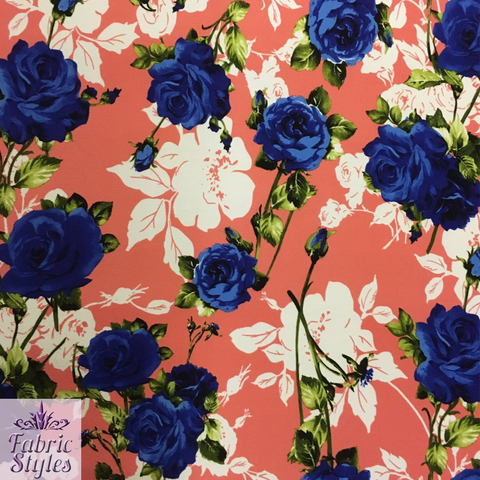 FS035_1 Floral Print | Fabric Styles