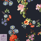 FS089_1 Floral Print Scuba | Fabric Styles
