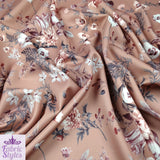 FS101_5 Floral Mink Base | Fabric Styles