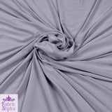 FS115_2 Silver Grey Soft Touch Fabric | Fabric Styles