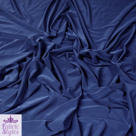 FS115_3 Navy Soft Touch Fabric | Fabric Styles