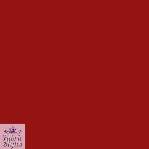 FS115_8 Red Soft Touch Fabric | Fabric Styles