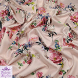 FS120 Nude Base Floral Print