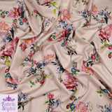 FS120_1 Nude Base Floral Print | Fabric Styles