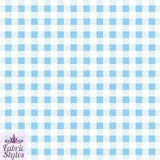 FS130_3 Blue Gingham Print Checked