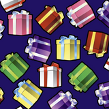 FS158 Presents Gifts Purple Base