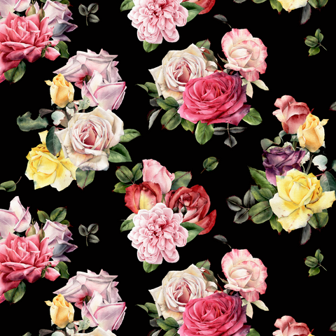 FS432 Camellia Roses | Fabric Styles