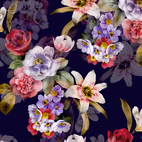 FS434 Floral Beauty | Fabric Styles