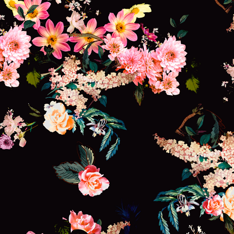 FS437 Floral | Fabric Styles