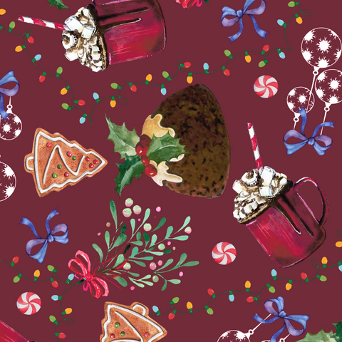 FS612 Christmas Pudding | Fabric Styles