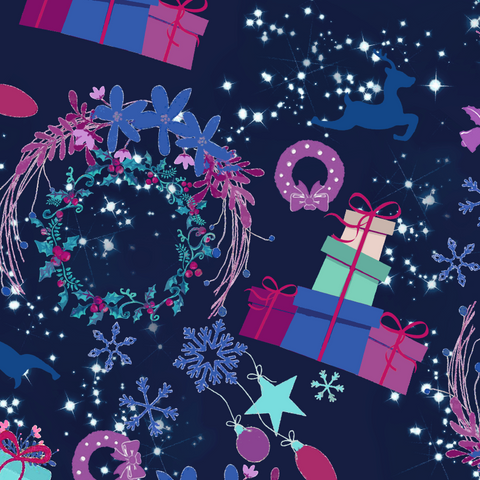 FS619 Festive Wishes | Fabric Styles