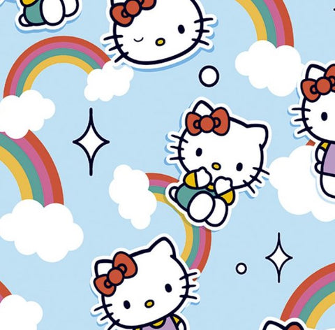 FS892_1 Hello Kitty Kawaii Cotton