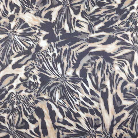 FS129 Brown Animal Print ITY Fabric | Fabric Styles