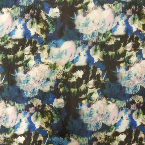 ONE-OFF 3.1m Floral Print (Sheer Fabric)