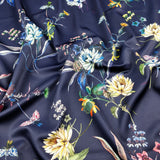 FS166 Navy Base Floral