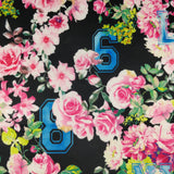 FS144_2 Floral New York Print | Fabric Styles