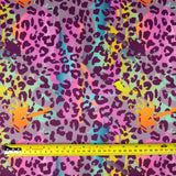 FS162 Leopard Paint Strokes *EXCLUSIVE* Fabric