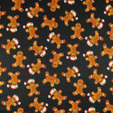FS082 Black Base Gingerbread Man | Fabric Styles