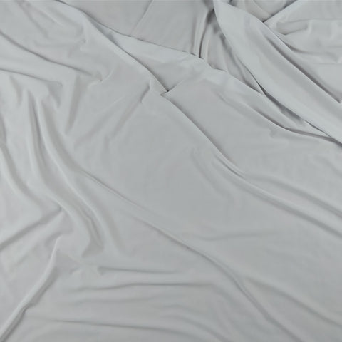 FS115_15 Optic White Soft Touch Fabric | Fabric Styles