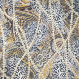 FS222 Leopard Gold Chain | Fabric Styles