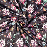 FS217 Lilac Floral | Fabric Styles
