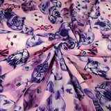 FS205_1 Purple Cats | Fabric Styles
