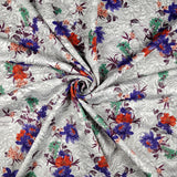 FS208 Jacquard Effect Floral | Fabric Styles