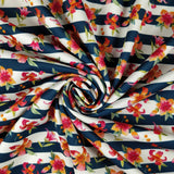 FS270 Striped Floral | Fabric Styles