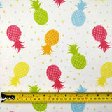 FS247 Coloured Pineapples | Fabric Styles