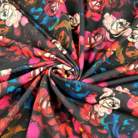 Rose Matalic Floral - Fabric Styles